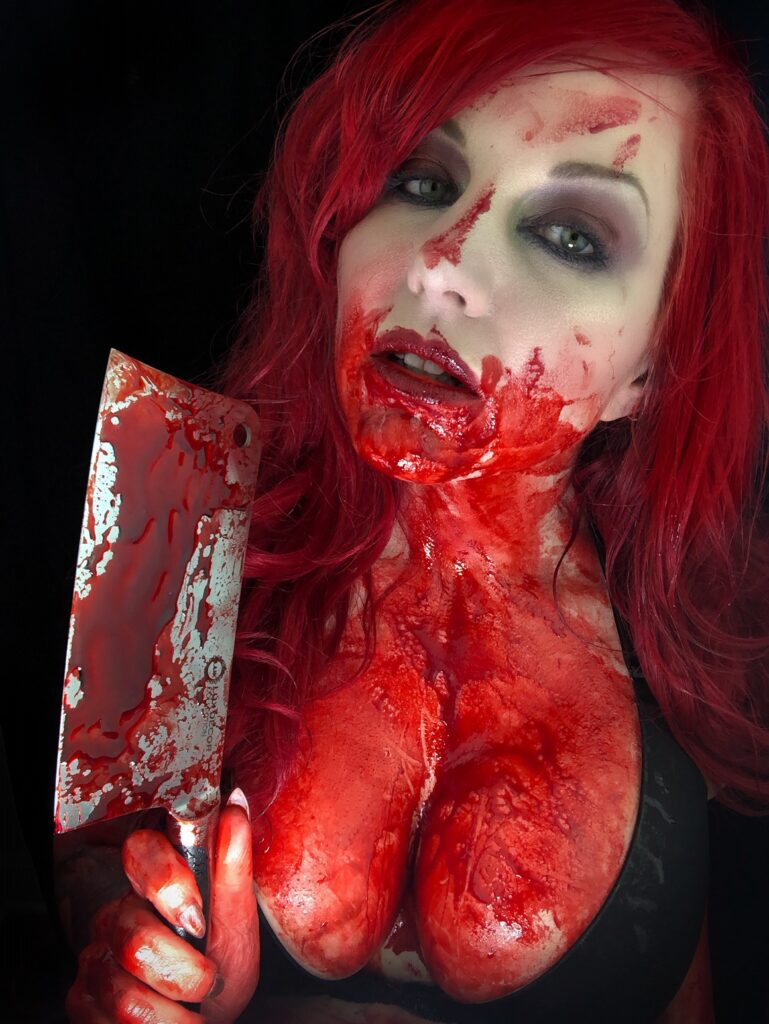 Crystal Cleveland Bloody vampire